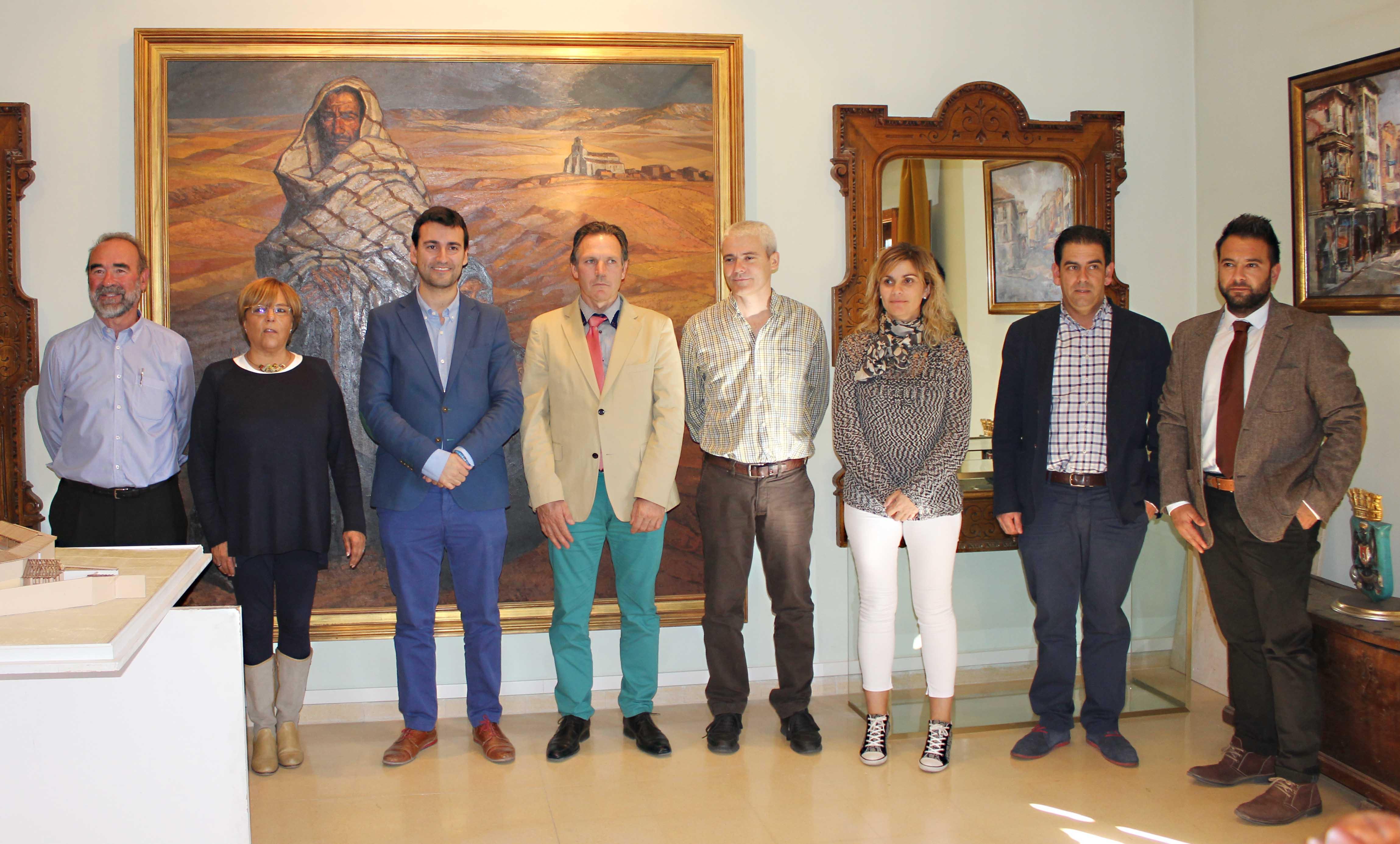 Foto de Presidentes y Presidentas de los Grupos de Acción Local en Medina de Rioseco