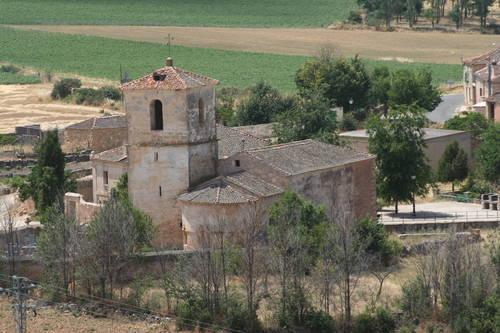 Resultado de imagen de Arevalillo de Cega. Iglesia de San Mamés.